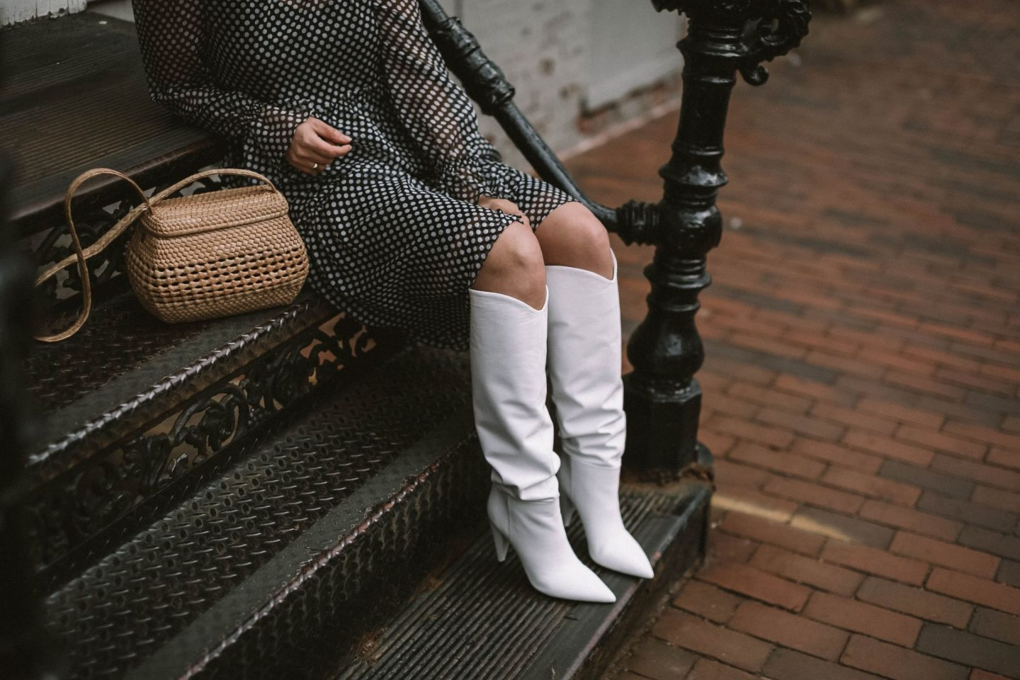 white boots, marc fisher, promo code